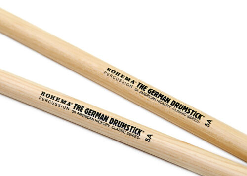 Rohema • 1 Paar • 5A American Classic Hickory • Drumsticks • Trommelstöcke