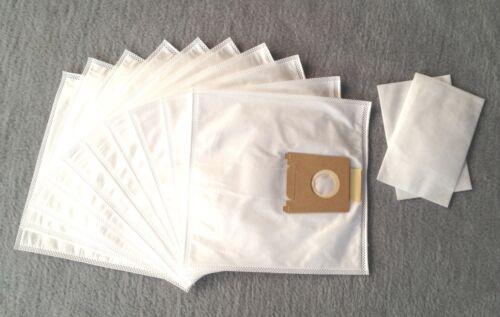 10 sacs pour aspirateur Mister vac MV 616 anthères Filtre sacs 2 Filtre
