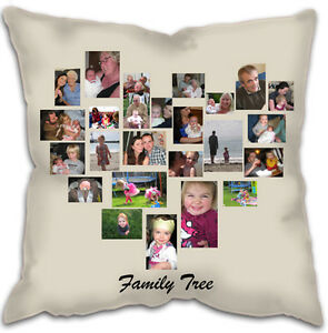personalised photo collage cushion ebay