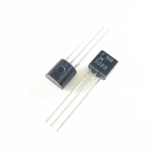 50PCS 2N5088 TO-92 NPN Amplifer Transistor TOP