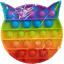 miniature 9 - Push it Pop up Bubbles Fidget Blasen Drücken Spielzeug Toy Antistress Regenbogen