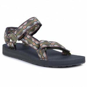 Teva Original Universal Textile Sporty Slingbacks Womens Sandals 1003987 / CCGRN