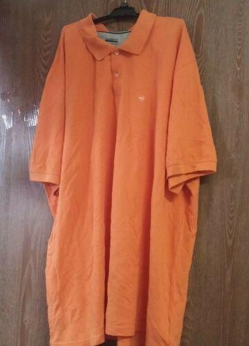 Basic Editions Classic Fit Orange XLT or XXXLT Polo Shirt