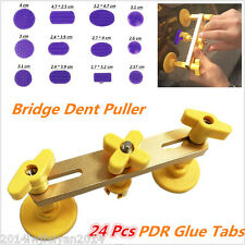 Autos Body Paintless Dent Repair Hail Removal Tools PDR Lifter Puller Glue Tabs