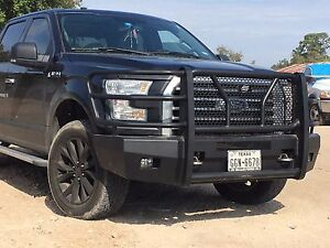 New Ranch Style Smooth Front Bumper 2015 2016 2017 Ford ...