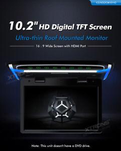 MONITOR TETTO XTRONS CM101HD 10.2 POLLICI HDMI AVI MP3 USB SD GIOCHI VIDEO 1080P