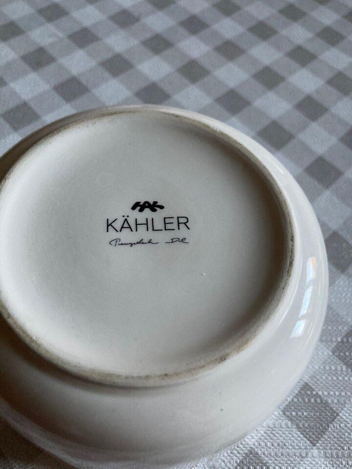 Andet, Lille skål, Kahler