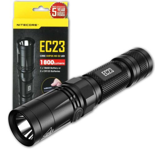 NITECORE EC23 1800 Lumens LED Flashlight CREE XHP35 HD E2 LED