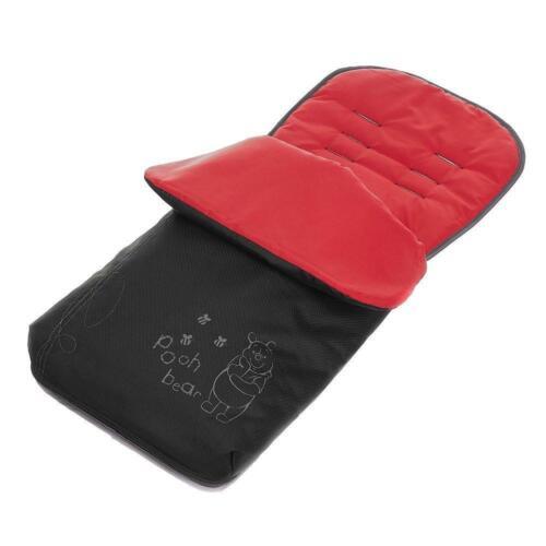 Black Red ON SALE WAS £25 Obaby Disney Sketch Pooh Footmuff Cosytoes