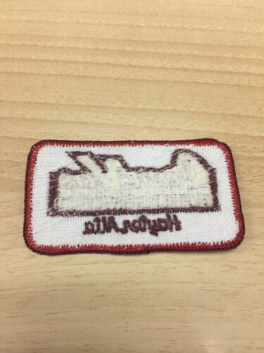 "Vtg Cam-Vac Oilfield Service 3/"" Embroidered Patch Sew On Hayter Alberta Canada"