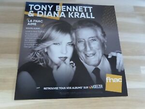 Tony-Bennett-amp-Diana-Krall-Love-Is-Here-To-Stay-Plv-30-x-30-cm-i-Display
