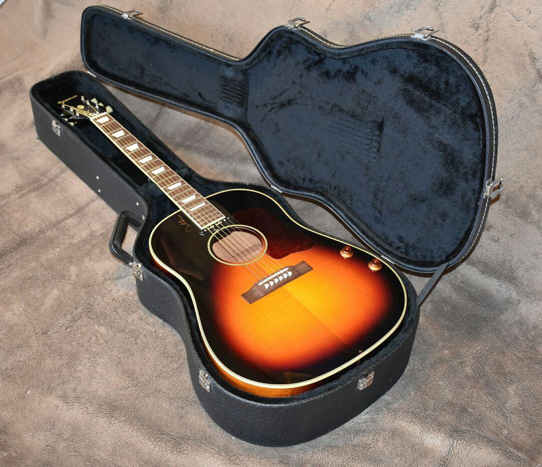 Epiphone EJ-160E rare Japan vintage popular acoustic guitar EMS F / S