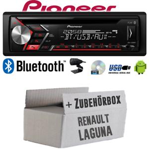 Autoradio Radio Pioneer für Renault Laguna 1 /& 2Bluetooth USB MP3Einbauset