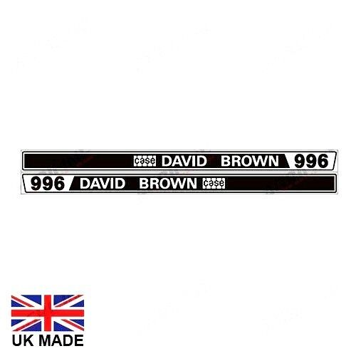 DECAL set se adapta a 996 tractores David Brown.