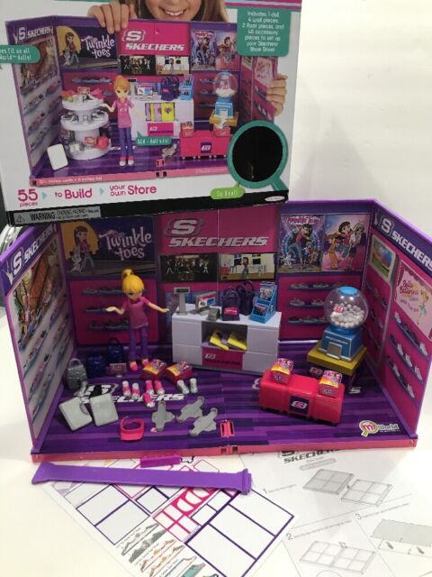 MiWorld Mini NEW Jakks 55 pieces to Build Mi World SKECHERS SHOE STORE
