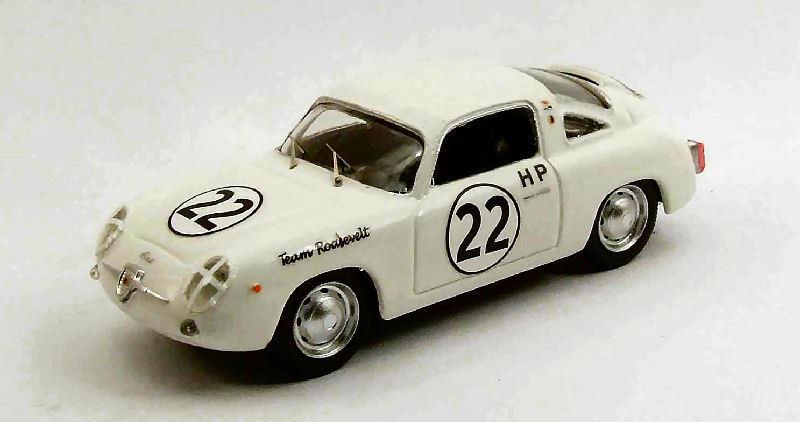 Fiat Abarth 750 Zagato  22 Winner 4 H Sebring 1960 P. Richards 1 43 Model