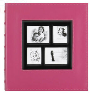 Benjia-Photo-Album-500-Pockets-6x4-Photos-Extra-Large-500-Pockets-Pink-1