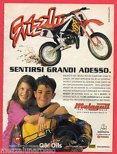 Pubblicità Advertising MALAGUTI 1999 GRIZZLY minicross