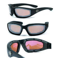 Choppers Motorcyle Riding Glasses Foam Padded Sunglasses - AFM C17