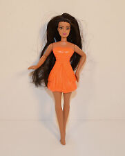 "2011 Orange Fairy 5"" McDonald's #4 Action Figure Barbie A Fairy Secret"