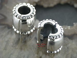 BAFFI-Barba-gioielli-anello-grande-barba-PERLA-ARGENTO-925-Perla-Capelli-Clip-PERLA-bordo-cordoncino