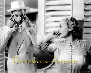 CAROLE-LOMBARD-8x10-Lab-Photo-1930s-SEXY-Movie-Still-High-Fashion-Glamour-Shot