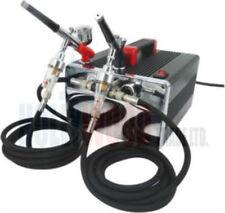 Nuevo Mini Compresor Aerografía Kit-Hs 218 Kit 2 (2 Aerógrafo's)
