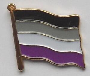 Asexual flag overlay
