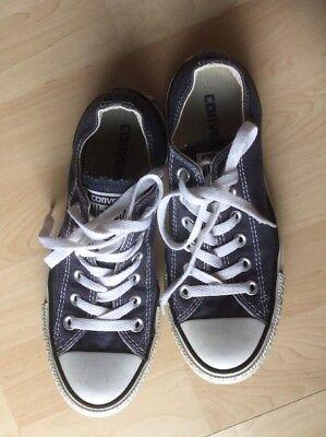 SneakerChucks Converse All Star Gr. 37 (UK 4,5) Dunkelblau Neuwertig   eBay