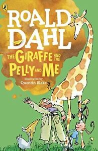 NEW-The-Giraffe-The-Pelly-and-Me-ROALD-DAHL-Paperback-Book-Childs-Children-039-s