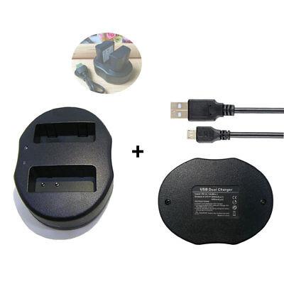 Cargador de batería de alimentación para Panasonic Lumix dmc-fz50egm