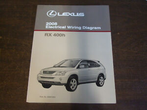 2008 lexus rx400h rx 400h electrical wiring diagram service repair image is loading 2008 lexus rx400h rx 400h electrical wiring diagram