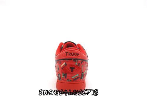 Basse School Old Vintage Baskets Rouge Édition Troupe Flag Neuf Couronne Limitée q7zzpw