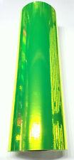 Fluorescent Yellow Chrome Mirror Sign Plotter Cutter Vinyl Roll