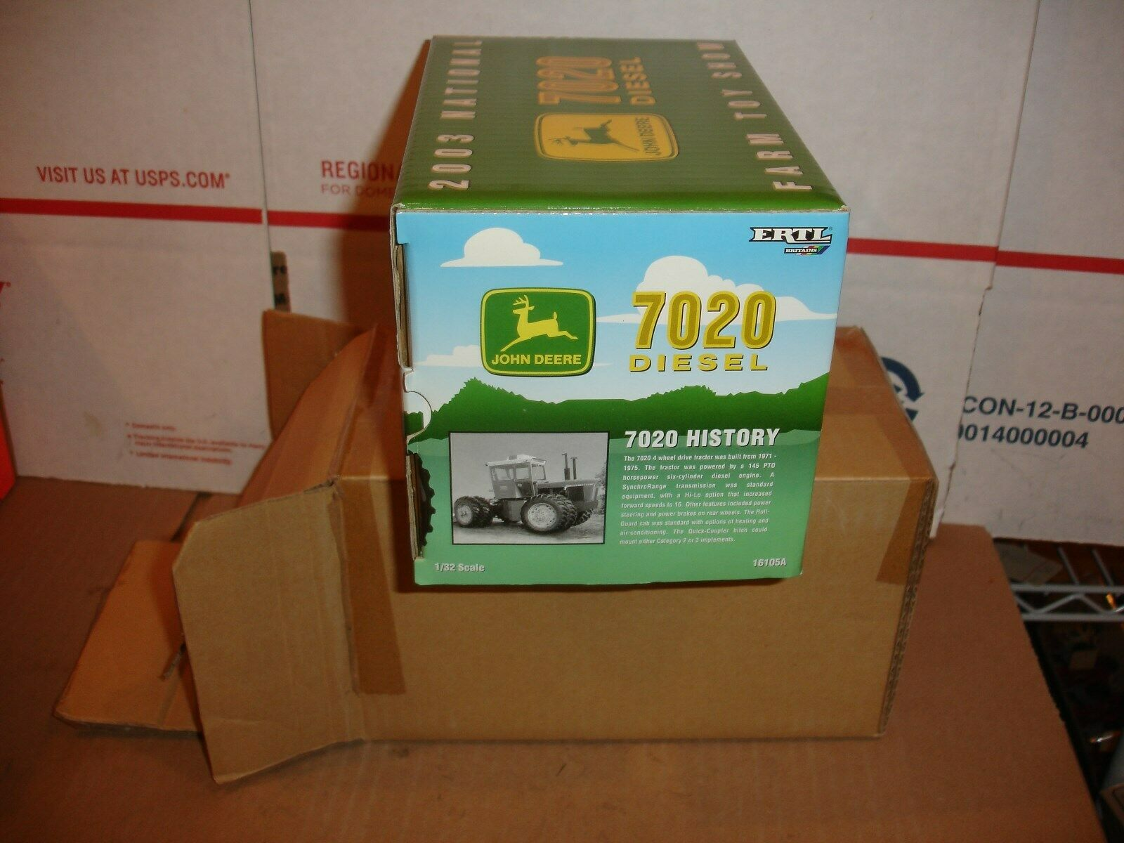 1 32 john deere 7020 toy farmer