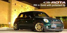 Gold 15X7 +25 Rota Rb 4X100 Wheels Fit Tercel Yaris Mazda Mx3 323 Scion Xa Xb