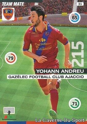 030 KEVIN MAYI FRANCE GFC.AJACCIO CARD ADRENALYN 2016 PANINI T