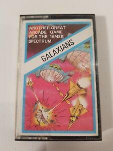 ZX Spectrum 16k 48k galaxians Spiel Tape Artic