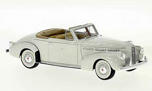 Lasalle serie 50 cabrio coupé  hellgrau 1 43 modell neo - modellen
