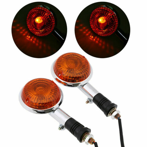 Turn Signal Indicator Light for Yamaha Virago 1100 XV1100 85-99 1997 Amber Lens