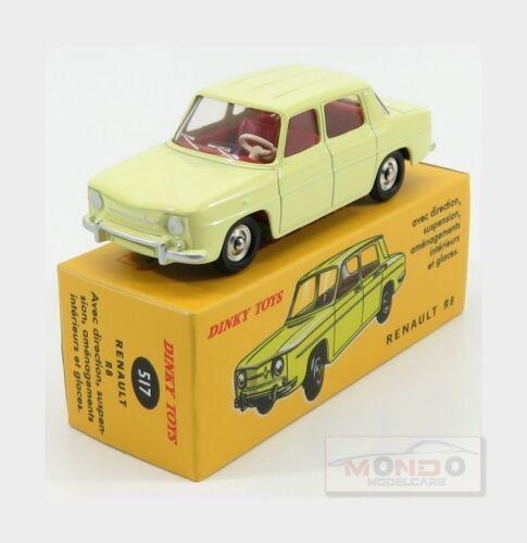 Renault R8 Yellow EDICOLA 1:43 ED517