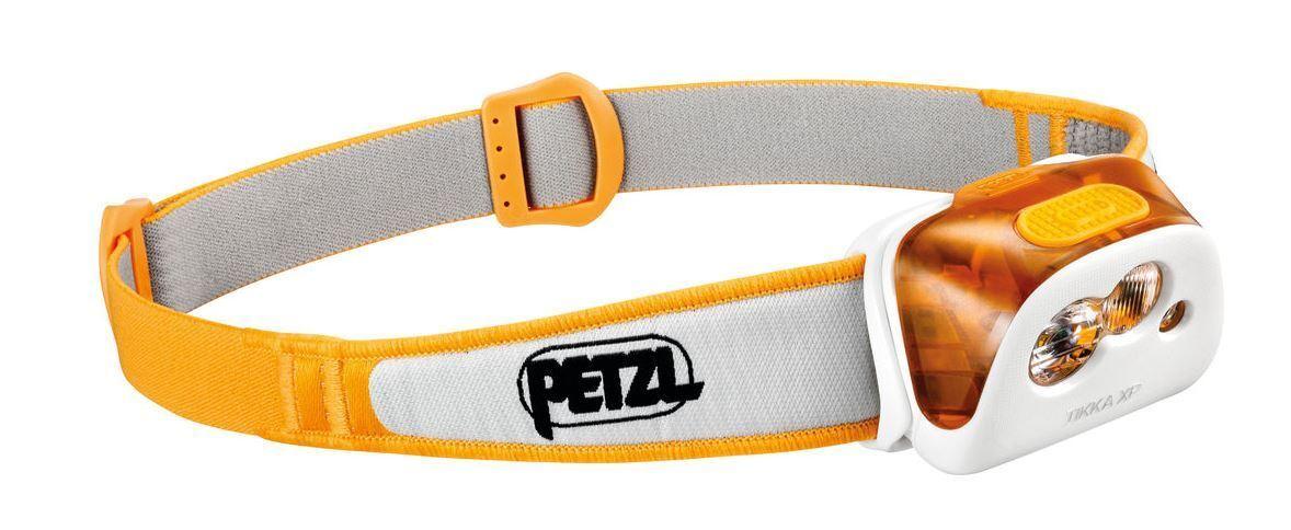 NEW PETZL TIKKA XP HEADLAMP WEATHER RESISTANT WATERPROOF CAMPING HIKING TURMERIC