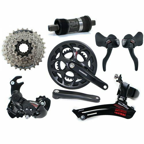 SHIMANO Tourney A070 Road 2 x 7 Speed Groupset 6 piece RD W Hanger