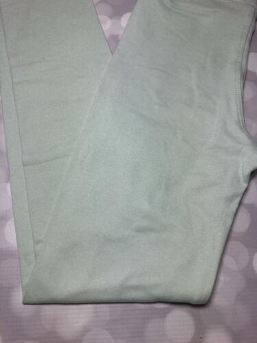 LuLaRoe L//XL Child Kids Solid Color Leggings LLR Blue BNWOT Misty
