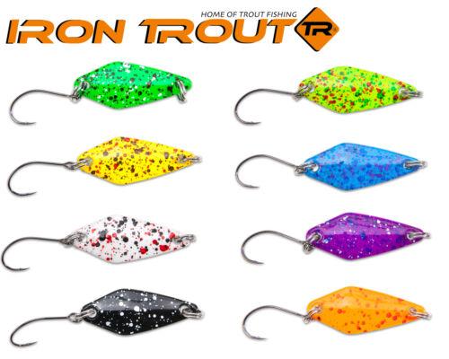 Blinker für Forelle Iron Trout Spotted Spoon Forellenköder Forellenspoon