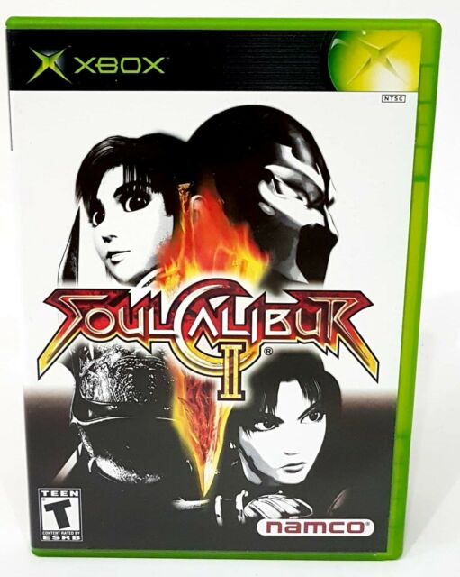 Soul Calibur II Xbox CIB