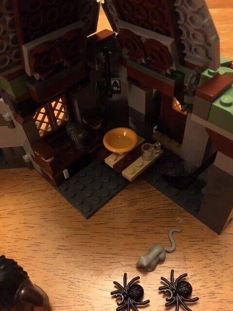 Lego Harry Potter Retired Original Set () Hagrid's Hut Hut Hut 100% Complete 2010 f9df30