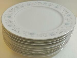 Set-8-English-Garden-Platinum-Fine-China-of-Japan-1221-DINNER-PLATES-10-1-4-034