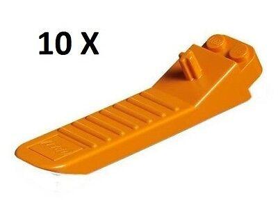 2 X LEGO Brick Separator Brick /& Axle Separator Human Tool Orange New Style