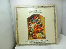 GEORG MUFFAT FLORILEGIUM SECUNDUM CHRISTOPHER HOGWOOD DSLO591   LP VINYL